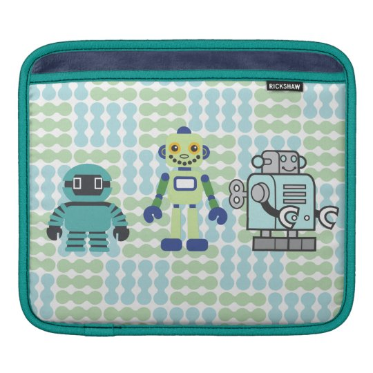 Robots & Androids iPad Sleeve