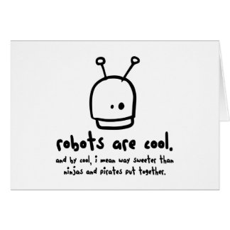 robots are cool1 card