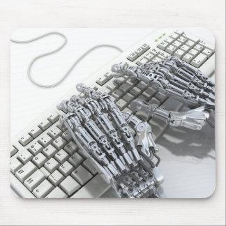 Robots arm mouse mat