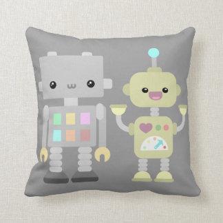 Robots At Play Cushion