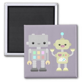 Robots At Play Magnet