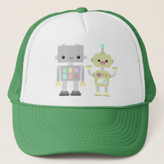 Robots At Play Trucker Hat