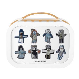 ROBOTS - customizable Lunch Box