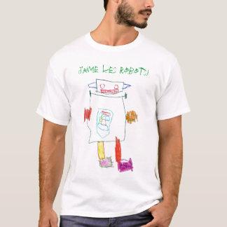 Robots, J'aime les robots! T-Shirt