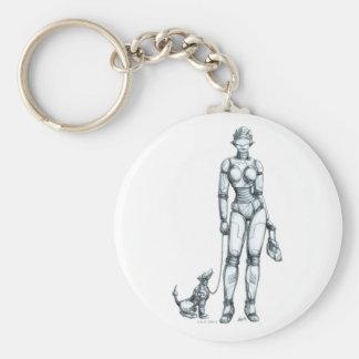 Robots Key Ring