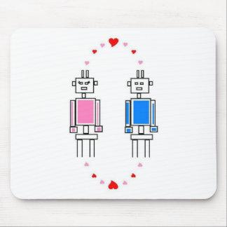 Robots Love Mouse Pad