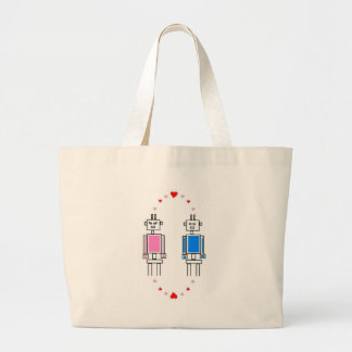 Robots Love Tote Bags