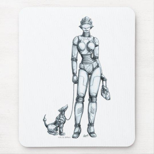 Robots Mouse Mat