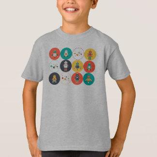 Robots Rule T-Shirt
