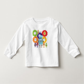 Robots Rule Toddler T-Shirt