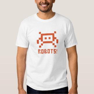 ROBOTS! TEE SHIRTS