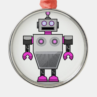 robottattoobrogirl.png christmas ornament
