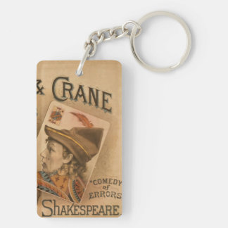 Robson & Crane - the Knaves of Shakespeare Double-Sided Rectangular Acrylic Key Ring