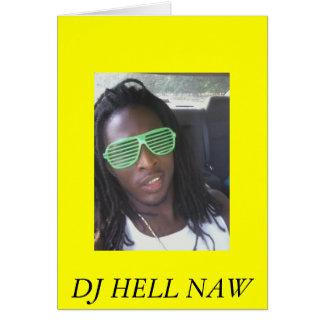 roc3, DJ HELL NAW Greeting Card