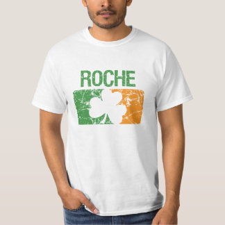 Roche Surname Clover T-Shirt