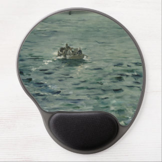 Rochefort's Escape by Edouard Manet Gel Mouse Pad