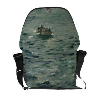 Rochefort's Escape by Edouard Manet Messenger Bag