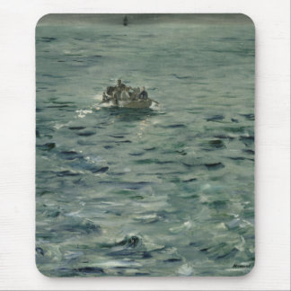 Rochefort's Escape by Edouard Manet Mouse Pads