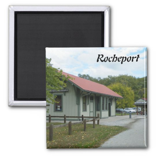 Rocheport Square Magnet