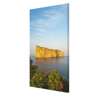 Rocher Perce (Perce Rock), Quebec, Canada. Canvas Print