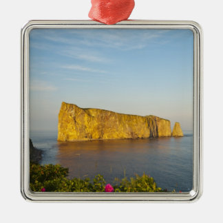 Rocher Perce (Perce Rock), Quebec, Canada. Christmas Ornament