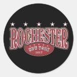 Rochester1817 Classic Round Sticker