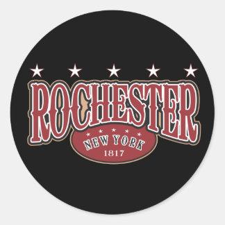 Rochester1817 Round Sticker