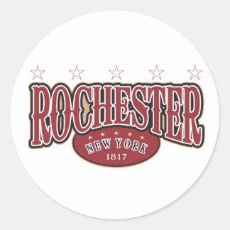 Rochester 1817 round sticker