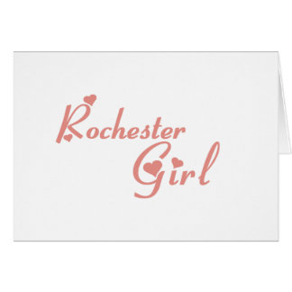 Rochester Hills Girl tee shirts Cards