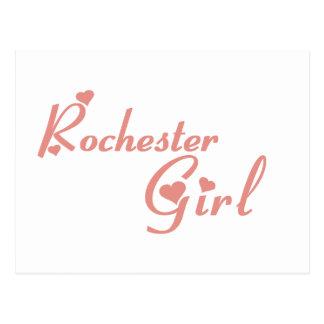 Rochester Hills Girl tee shirts Postcards