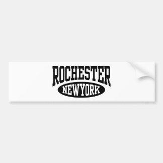 Rochester New York Car Bumper Sticker