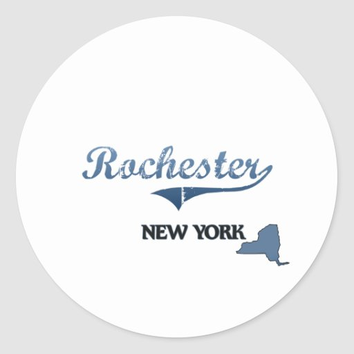 Rochester New York City Classic Sticker