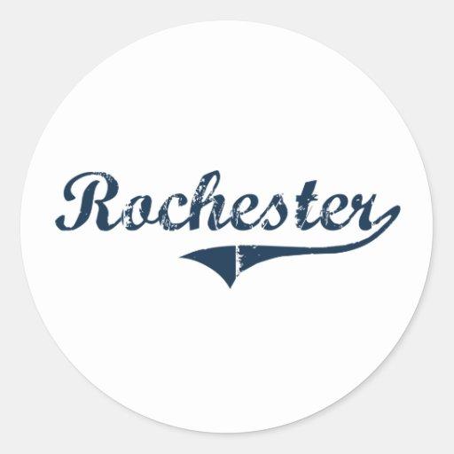 Rochester New York Classic Design Stickers