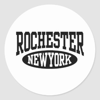 Rochester New York Round Sticker