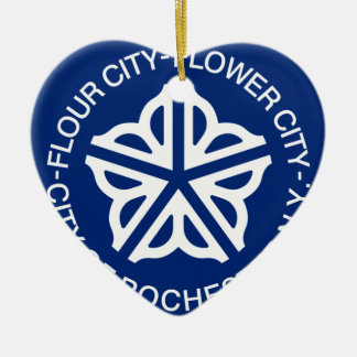 Rochester, New York, United States Christmas Ornament