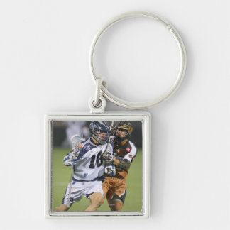 ROCHESTER, NY - AUGUST 06:  Ben Hunt #18 2 Silver-Colored Square Key Ring