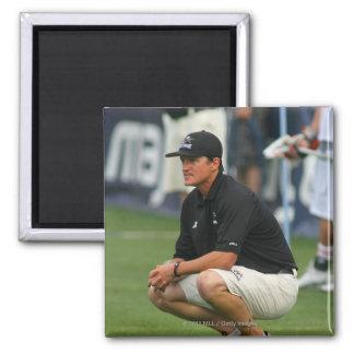 ROCHESTER NY - JULY 23 Tom Slate head coach Fridge Magnet