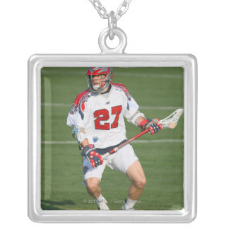 ROCHESTER, NY - JUNE 18:  Kevin Buchanan #27 2 Silver Plated Necklace