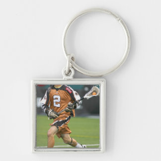 ROCHESTER, NY - JUNE 24:  Ned Crotty #2 2 Silver-Colored Square Key Ring
