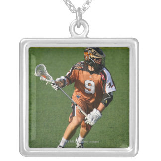 ROCHESTER, NY - MAY 21:  Matt Stribel #9 2 Silver Plated Necklace