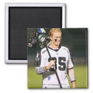 ROCHESTER, NY - MAY 21:Parker McKee #35 Square Magnet
