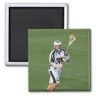 ROCHESTER, NY - MAY 21: Parker McKee #35 Square Magnet
