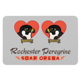 Rochester Peregrine Soap Opera Rectangular Photo Magnet