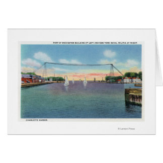 Rochester Port and NY Naval Militia Greeting Card