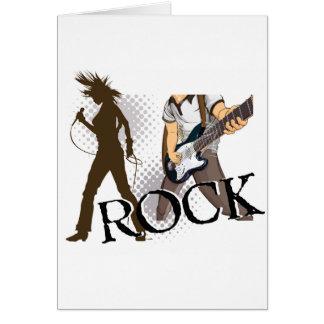 rock2.jpg greeting card