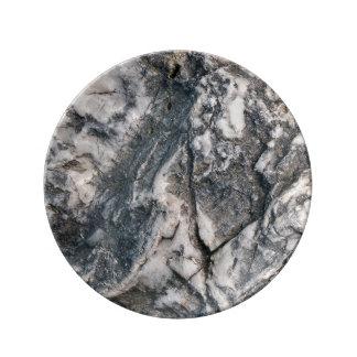 Rock(2) Porcelain Plate