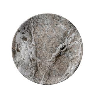Rock(4) Porcelain Plate