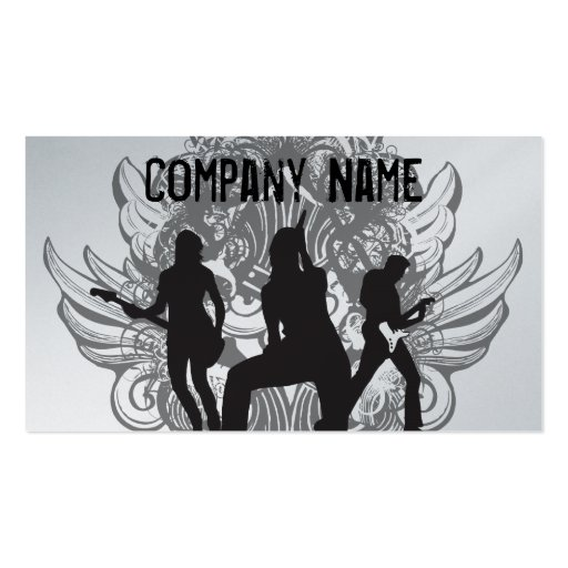 Rock and Roll Band Business cards