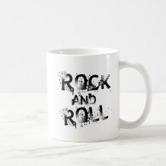 Rock and Roll Basic White Mug