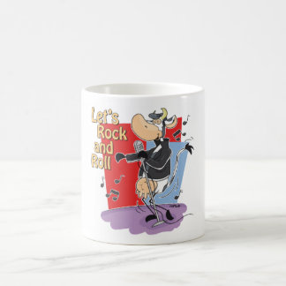 Rock and Roll Cow Mug